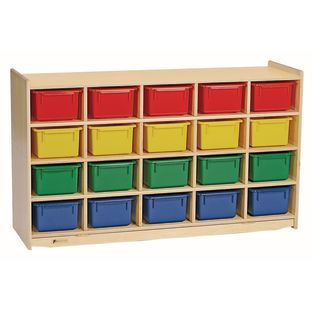MyPerfectClassroom 20-Cubbie Mobile Storage