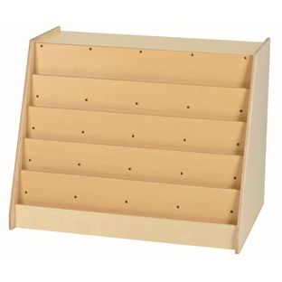 MyPerfectClassroom Book Display with Rear Storage - 1 storage
