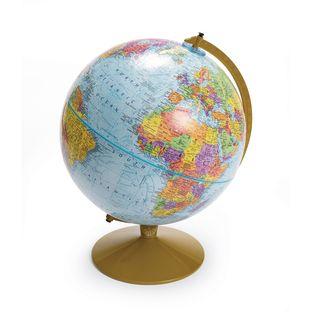 "Political Globe on Stand - 12""Dia."