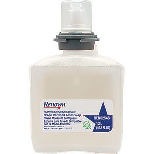 Renown Touchless Green Certified Foam Soap - Case of 2 - 2 soaps