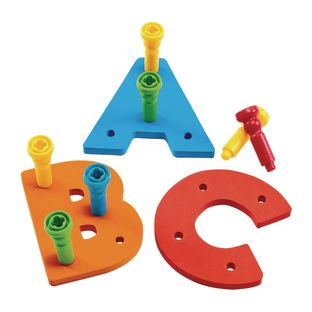Tall-Stacker Uppercase A-Z Pegboards  157 Pieces