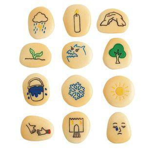 Self-Regulation Stones - 12 stones