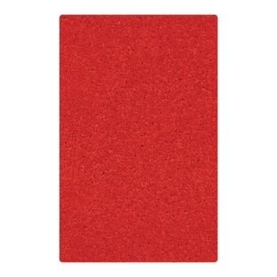 "Solid Color Carpet - Red 5'10"" x 8'5"" Rectangle - 1 carpet"