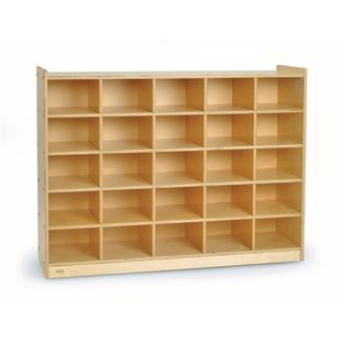 "Value Line Birch Tray Storage - 36""H, With Trays"