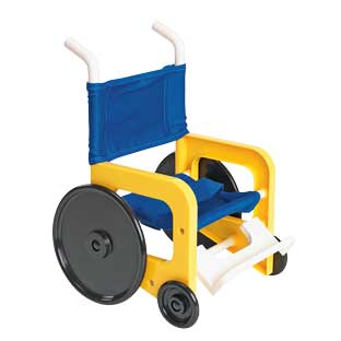 Wheelchair Accessory for Toddler Dolls - 1 doll