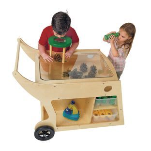 Value Line Birch Art and STEM Cart - 1 set