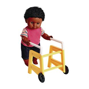 Walker Accessory for Toddler Dolls - 1 doll