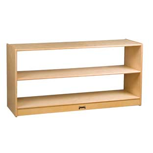 Wood Clear Back Storage - 1 storage