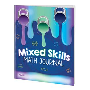 Mixed Skills Math Journals for Third and Fourth Grades - 12 journals