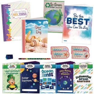 Supplemental Learning at Home Kit for Fourth, Fifth, and Sixth Grade
