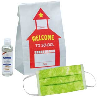 Individual Student PPE Bag - Classroom Pack of 20