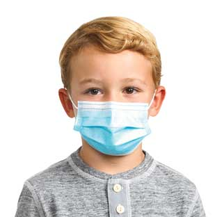 FDA Approved Disposable Mask - Child Size 50-Pack