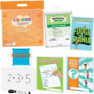 Learning Support Kit - Fourth Grade - 1 multi-item kit