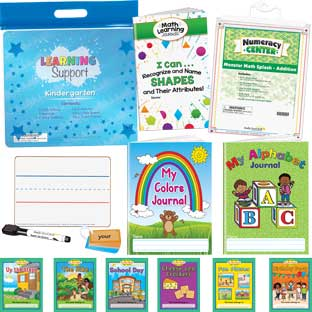 Learning Support Kit - Kindergarten - 1 multi-item kit