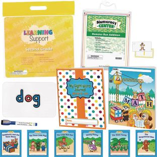 Learning Support Kit Second Grade - 1 multi-item kit