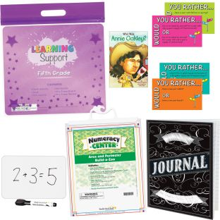 Learning Support Kit - Fifth Grade - 1 multi-item kit