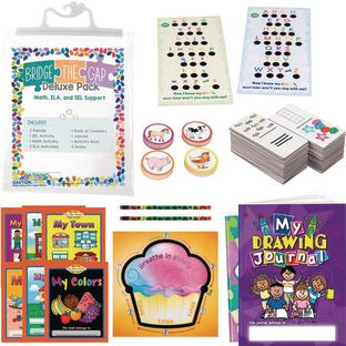 Bridge the Gap Deluxe Pack - Math, ELA and Social-Emotional Learning Support - Pre-K