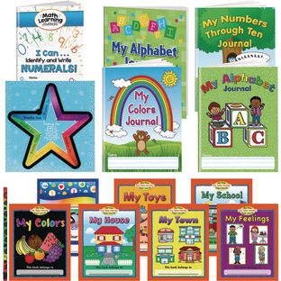 Supplemental Learning at Home Kit for PreK - 1 multi-item kit