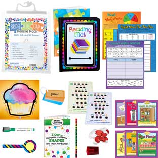 Bridge the Gap Deluxe Pack - Math, ELA and Social-Emotional Learning Support  Kindergarten