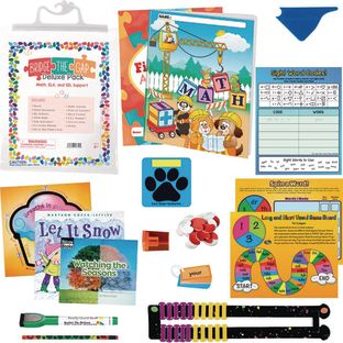 Bridge the Gap Deluxe Pack - Math, ELA and Social-Emotional Learning Support - First Grade
