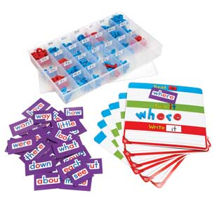 Magnetic Read, Build, And Write Boards, Letters and Sight Words Deluxe Kit