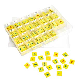 EZread Soft Touch Magnetic Foam Letter Tiles Kit