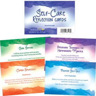 Self-Care Reflection Cards