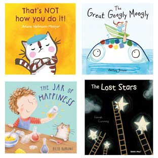 Social-Emotional Learning Book Set of 4
