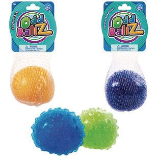 Sensory Ball Assortment Pack - 3 Different Textures