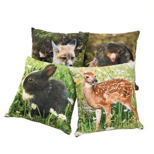 Baby Woodland Animal Pillows, Set of 4