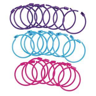 Colorations Pony Bead Bracelets - Set of 24