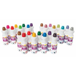 Colorations Washable Chubbie Markers - Set of All 3