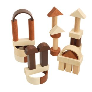 Excellerations Unit Blocks Tower and Arch Set - 34 Pieces