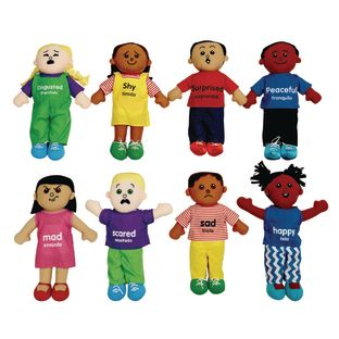 Excellerations Emotions Plush Dolls - Set of 8