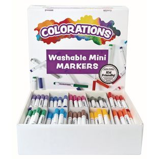 Colorations Washable Mini Markers - Set of 200