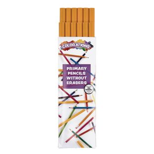 Colorations Primary Pencils - Without Erasers, Set of 12