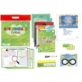 Juego de Aprendizaje Exitoso Grado 3 (Spanish Learning Success Kit - Third Grade)