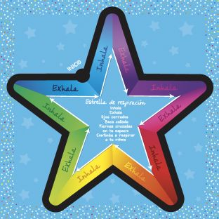 Spanish Breathing Star - Set of 6