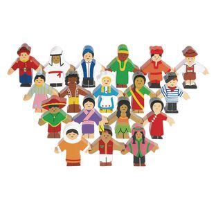 Excellerations® Children Around the World - Set of 18