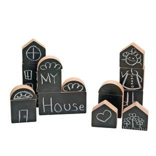 Excellerations® Chalkboard Blocks - Set of 15