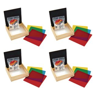 Excellerations® Prewriting Sand and Light Table Tray Set of 4