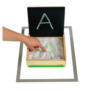 Excellerations® Prewriting Sand and Light Table Tray