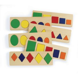 Excellerations® Size and Shape Puzzles - Set of 6
