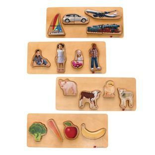 Environments® Toddler Photo Puzzle Set of All 4