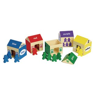 Environments® earlySTEM™ Colors and Counting Houses 20 Pieces