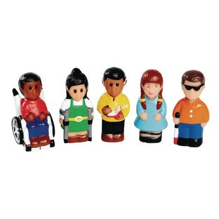 """Different Abilities 3""""H Friends Set of 5"""