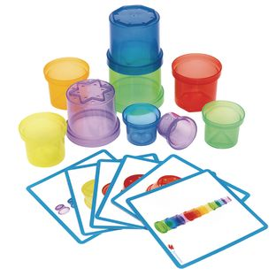 Environments® earlySTEM™ Stacking Translucent Cups