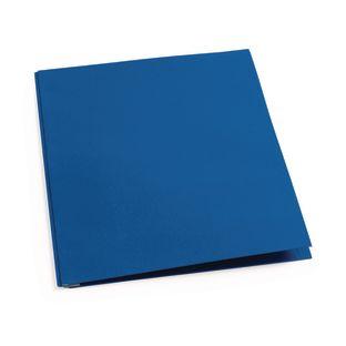 Pocket and Brad Folder, Blue