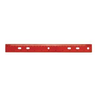 """12"""" Standard and Metric Plastic Ruler"""