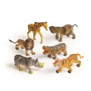 Medium Jungle Animals - Set of 6
